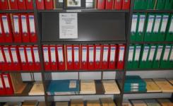 Foto van de afdeling genealogie