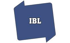 Bib-logo met de tekst 'IBL'