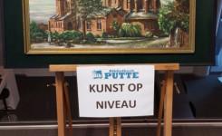 Foto van een schilderij van Alfons Rappoort als kunstwerk van de maand in de bib