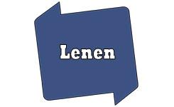 Bib-logo met de tekst 'Lenen'