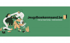 Logo van de Jeugdboekenmaand 2019
