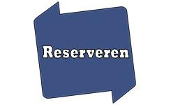 Bib-logo met de tekst 'Reserveren'