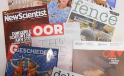 Foto met een aantal tijdschriften voor volwassenen