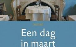 Fragment van het voorplat van het boek 'Een dag in maart' van Pol Hoste