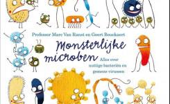 Voorplat van het boek 'Monsterlijke microben' van Marc Van Ranst
