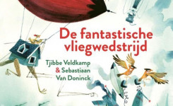 Voorplat van het boek 'De fantastische vliegwedstrijd'