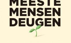 Voorplat van het boek 'De meeste mensen deugen' van Rutger Bregman