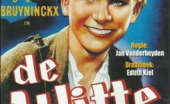 Dvd-doosje van de film 'De Witte' van Jan Vanderheyden uit 1934