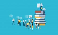 Icoon van 'Bibliotheken zijn meer dan ooit nodig!'