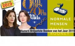 Schermafdruk van Humo's website met een aankondiging van de boekentop 10