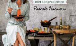 Voorplat van het boek 'Nog eenvoudiger met 4 ingrediënten' van Pascale Naessens