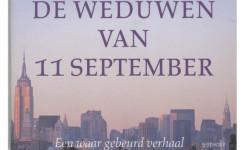 Fragment van het voorplat van het boek 'De weduwen van 11 september'