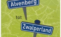 Voorplat van het boek 'Van Alvenberg tot Zwalperland', geschreven door René Patteet