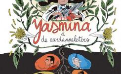 Voorplat van de strip 'Yasmina en de aardappeleters' van Wauter Mannaert