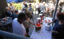 Foto met een algemeen beeld van het Zomercafé in de bib van Putte
