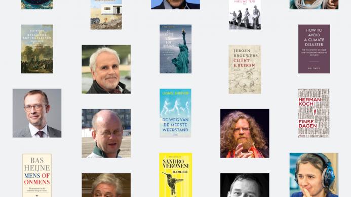 Overzicht met de covers van de 20 boeken die 2020 zullen veranderen