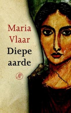 Voorplat van het boek 'Diepe aarde', geschreven door Maria Vlaar