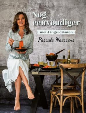 """Cover van het boek """"Nog eenvoudiger met vier ingrediënten"""" van Pascale Naessens"""
