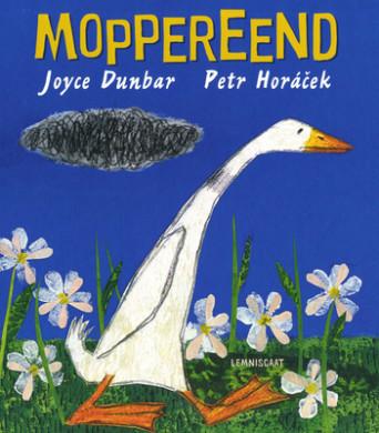 Voorplat van het boek Moppereend van Joyce Dunbar