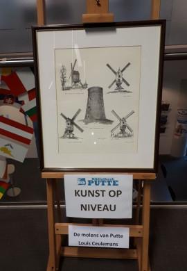 Foto van de pentekening van Louis Ceulemans als kunstwerk van de maand