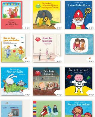 Schermafdruk van de website 'Boekpakket'