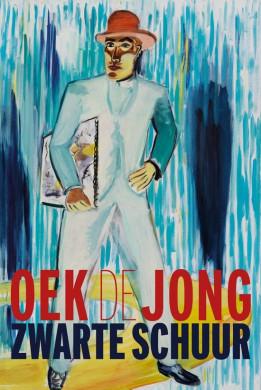 Voorplat van het boek 'Zwarte schuur' van Oek de Jong