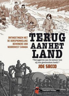 Voorplat van de graphic novel 'Terug aan het land' van Joe Sacco