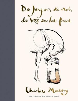 Voorplat van het boek 'De jongen, de mol, de vos en het paard' van Charlie Mackesy