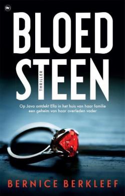 Voorplat van het boek 'Bloedsteen' van Bernice Berkleef