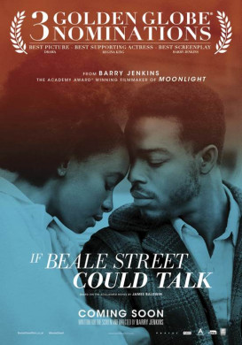Cover van de dvd 'If Beale Street could talk'