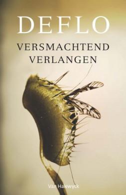 Voorplat van het boek 'Versmachtend verlangen', geschreven door Luc Deflo