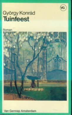 Voorplat van het boek 'Het tuinfeest' van György Konrád