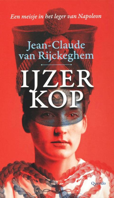 Voorplat van het boek 'IJzerkop', geschreven door  Jean-Claude van Rijckeghem
