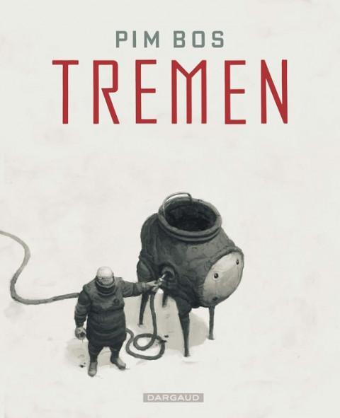 Voorplat van de strip 'Tremen' van Pim Bos.